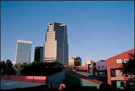 Downtown Tucson - Photo courtesy of the Metropolitan Tucson Convention & Visitors Bureau